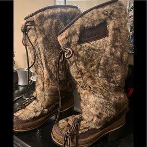Rare 🇮🇹Diadoria fur boots made in 🇮🇹
